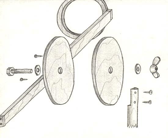 удержания трубы телескопа